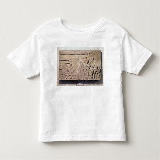Alivio que representa Dionysus en el hogar de Camiseta