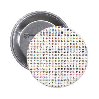 All iPhone/iOS emojis Chapa Redonda 5 Cm