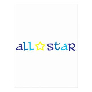 All Star Tarjeta Postal