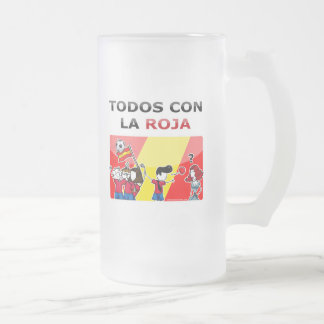 All with the red one! coffee mug