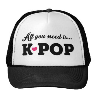 all you need is kpop gorra