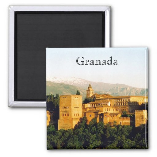 allambra Granada Imán De Nevera