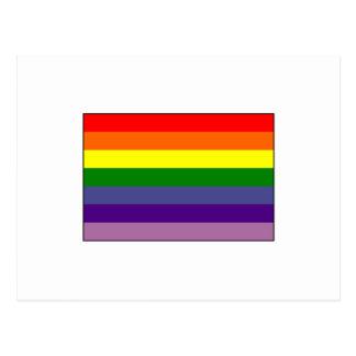 Alliance gay señala por medio de una bandera postal