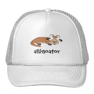 Alligoator Gorros Bordados