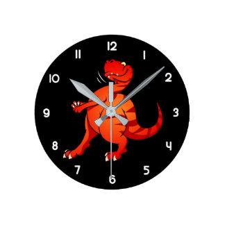 Allosaurus Reloj Redondo Mediano