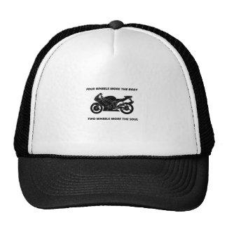 Alma de la bici y del cuerpo gorras