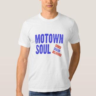 Alma de Motown firmada sellada entregado Camiseta