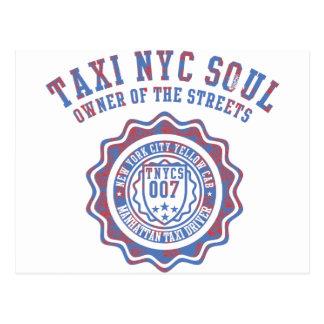 alma del nyc del taxi postal