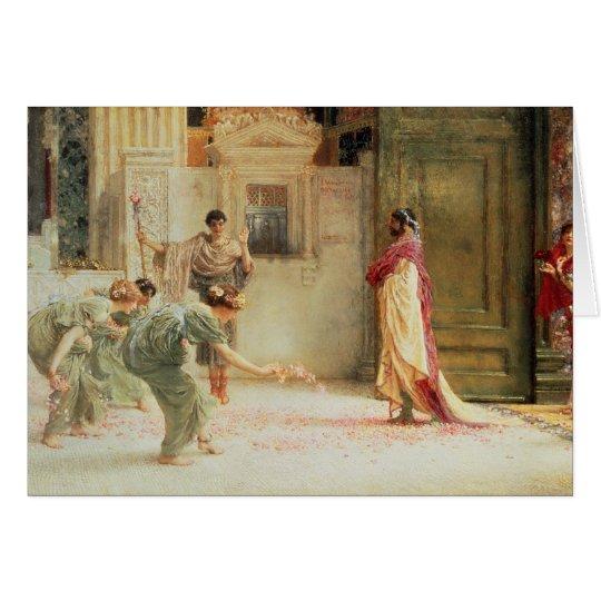 Alma-Tadema el | Caracalla: ANUNCIO 211, 1902 Tarjeta De Felicitación