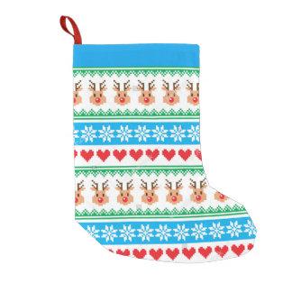 almacenamiento del navidad calcetín navideño pequeño