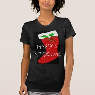 Almacenamiento del navidad camiseta