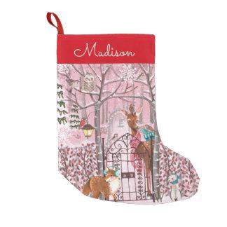 Almacenamiento del navidad del día de fiesta el | calcetín navideño pequeño