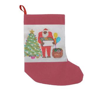 Almacenamiento del navidad del padre de Blemmyes Calcetín De Navidad Pequeño