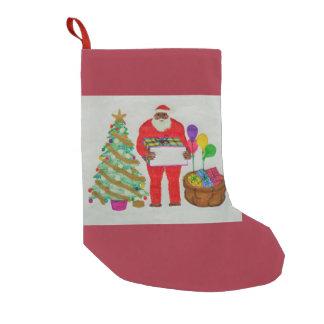 Almacenamiento del navidad del padre de Yeti Calcetín Navideño Pequeño