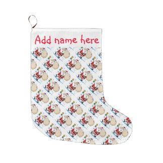 Calcetines navide os media de pap noel - Calcetines de navidad personalizados ...