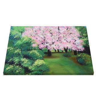almendros en flor impresiones de lienzo