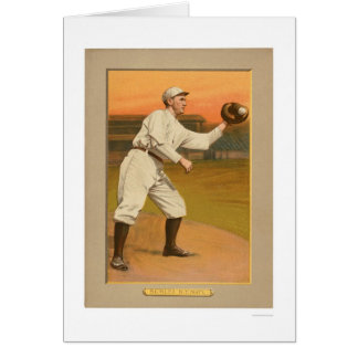 Almirante Schlei Giants Baseball 1911 Tarjeta De Felicitación