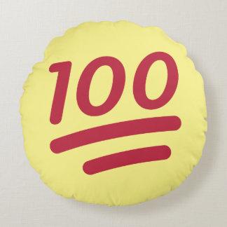Almohada 100% de tiro redonda de Emoji