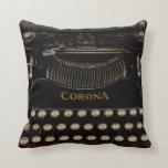 """Almohada 16"""" de la máquina de escribir de no. 3 de"""