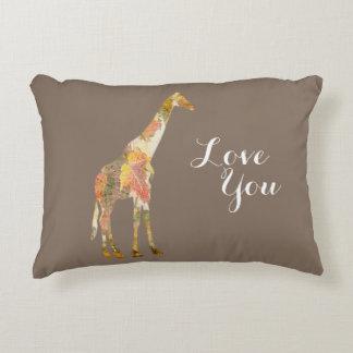 ¡Almohada adaptable de la jirafa para cada uno!!