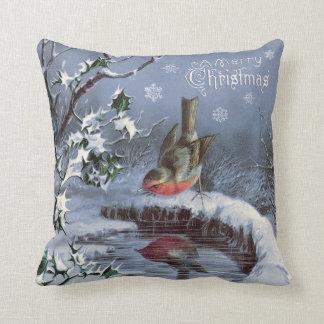 ¡Almohada adorable de las Felices Navidad del Cojín Decorativo
