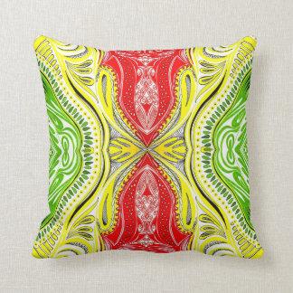 Almohada africana de los colores