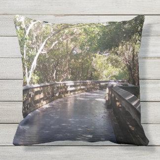 Almohada al aire libre de la naturaleza de la