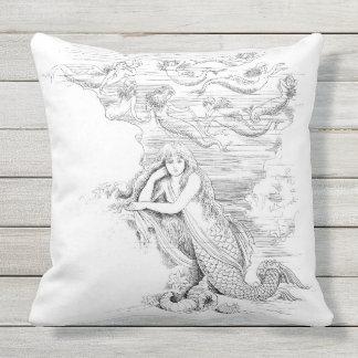 Almohada al aire libre de la sirena 4
