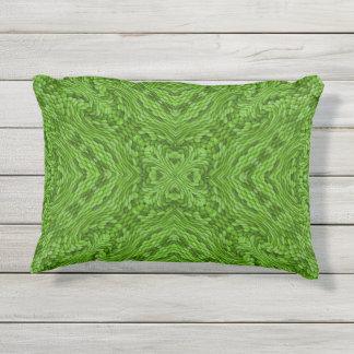 Almohada al aire libre del modelo verde del