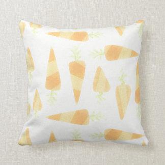 Almohada anaranjada de las zanahorias