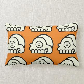 Almohada azteca del Lumbar del cráneo