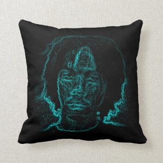 Almohada azul de la cara de Steven