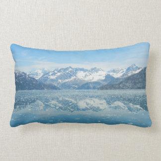 Almohada azul de la reflexión