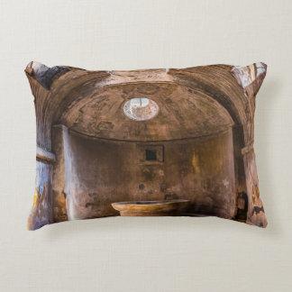 Almohada - baños romanos - Pompeya antiguo, Italia