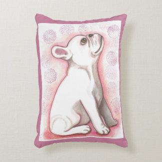 Almohada bonita del acento del perrito del dogo