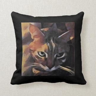 Almohada bonita del gato del gatito