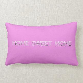 Almohada casera dulce casera del acento (rosa)