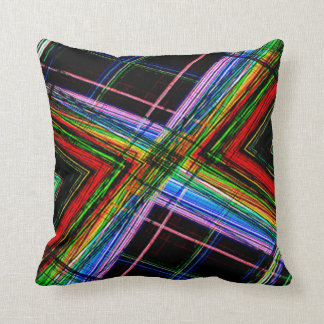 Almohada colorida de Julia para la decoración de