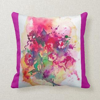 Almohada colorida hermosa del arte abstracto