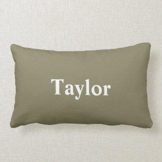 Almohada con nombre de encargo