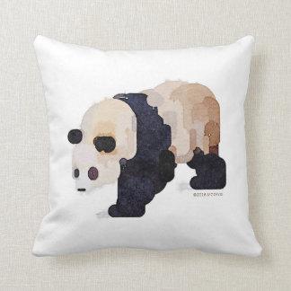 Almohada conocida personalizada de la panda