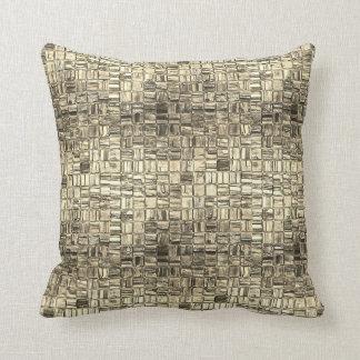 Almohada cuadrada mínima del mosaico de un grafito