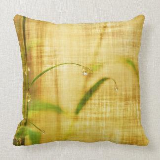 Almohada de bambú del estilo del vintage