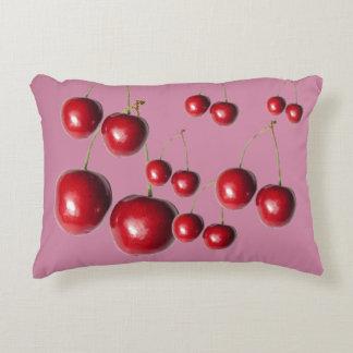 Almohada de cama jugosa de la cereza
