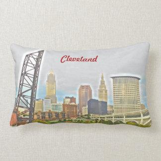 Almohada de Cleveland, el río Ohio PhotoPaint