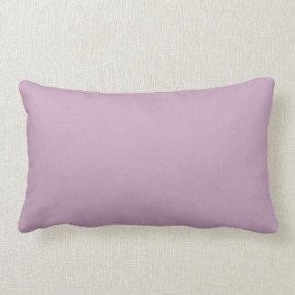 Almohada de color de malva de moda del color