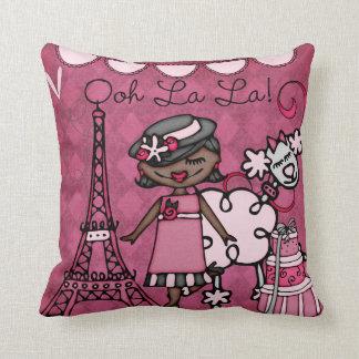 Almohada de encargo de la diva de París del