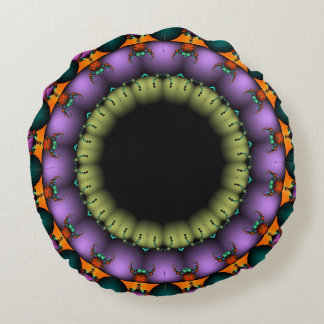 Almohada de Fractascope 14 Cojín Redondo