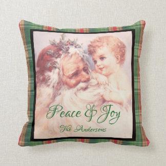 Almohada de la alegría de la paz del ángel de