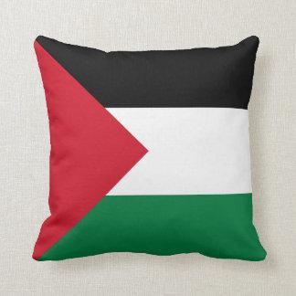 Almohada de la bandera de Palestina
